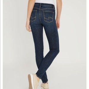 Silver Mazy Skinny jeans